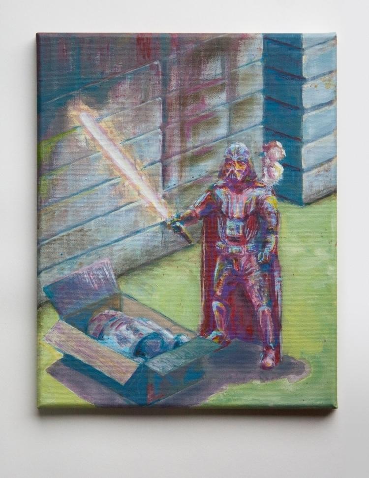 Unboxing astromech - painting, starwars - zeptilian | ello