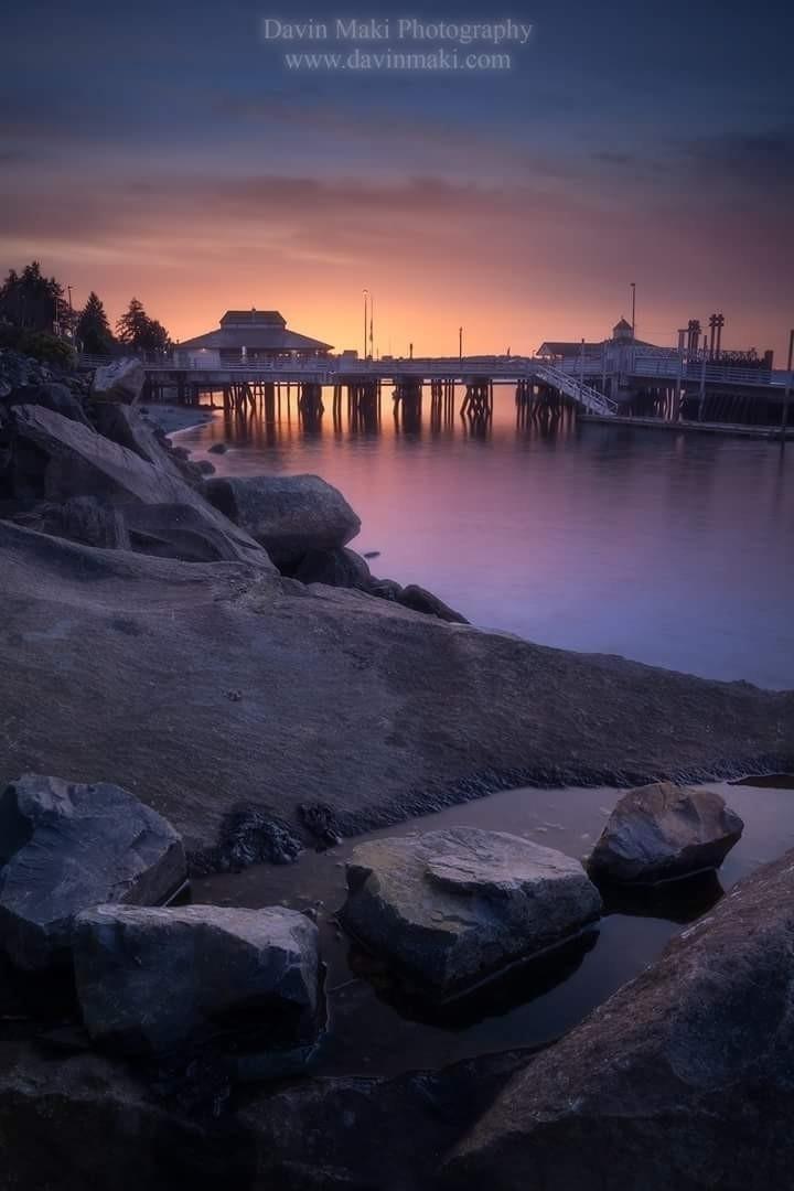 Fourth sunset Steilacoom, Washi - davinm | ello