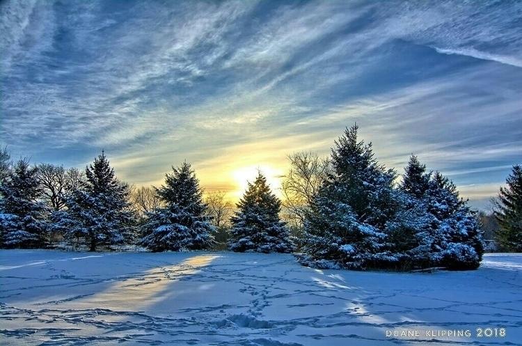 view snow North Iowa - Photography - bonfire_photography | ello