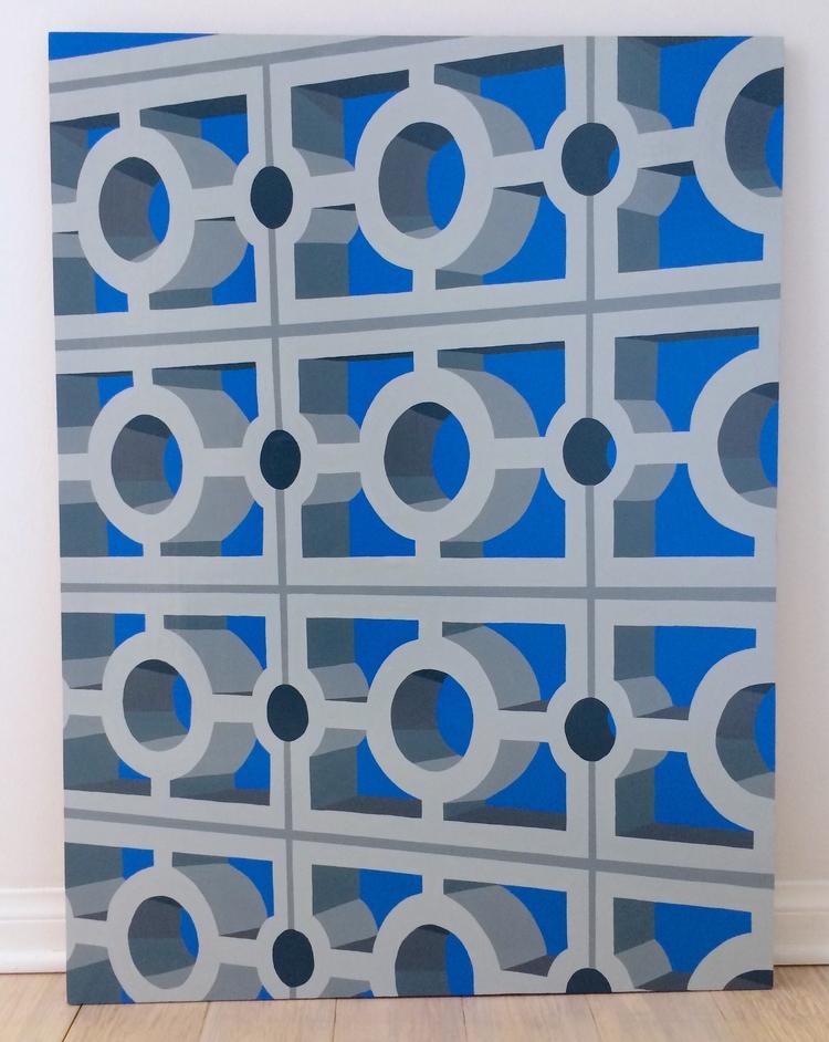 work focuses architecture, deta - angela_oliver_art | ello