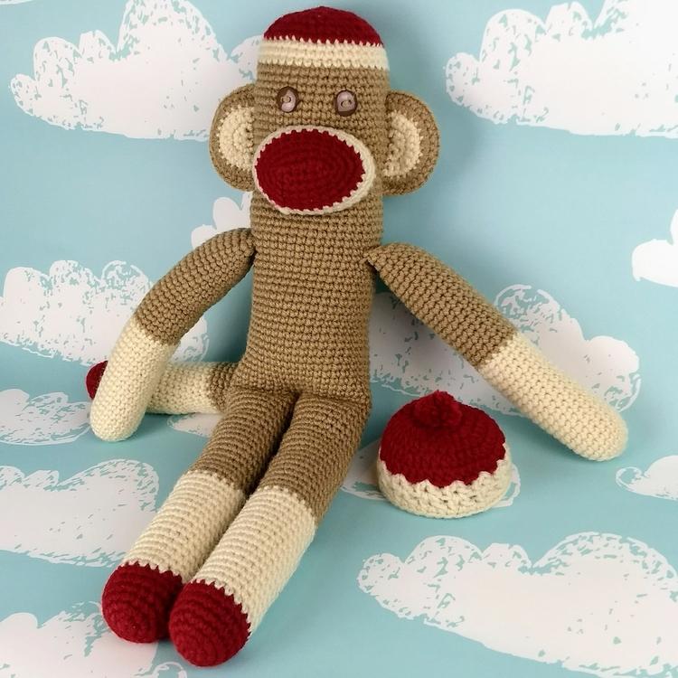 Happy Classic Colors Monkey flo - miniaturemonkeycreations | ello