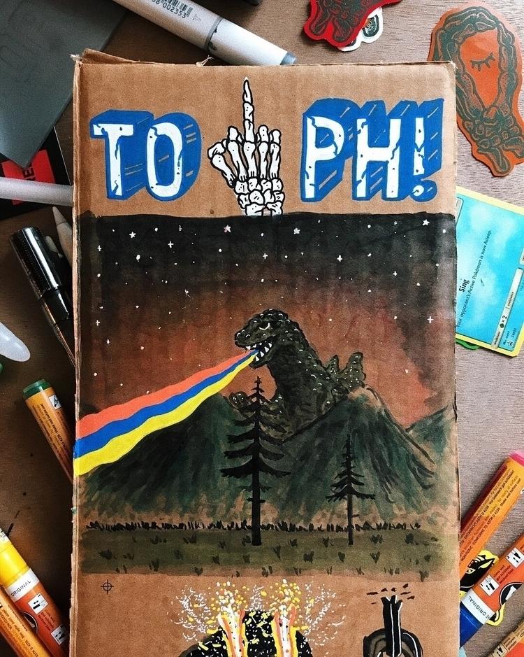 artist middle Montana. draw lot - mynameistoph | ello