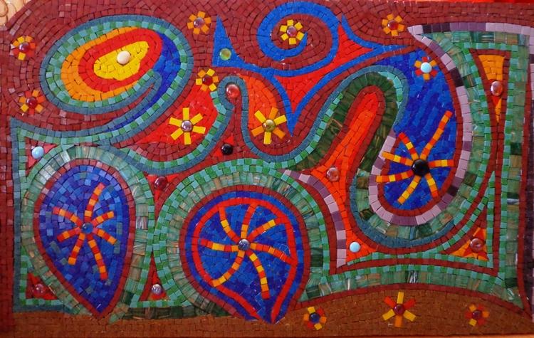 Surrender Flower mosaic work Bi - partmozika | ello