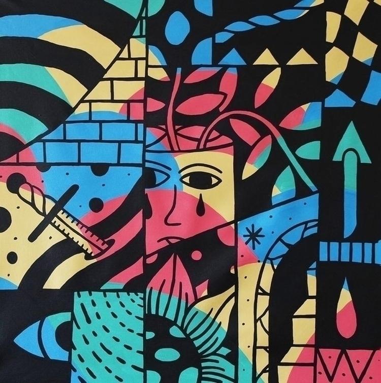 Magick III, 2017 Acrylic canvas - kylam | ello