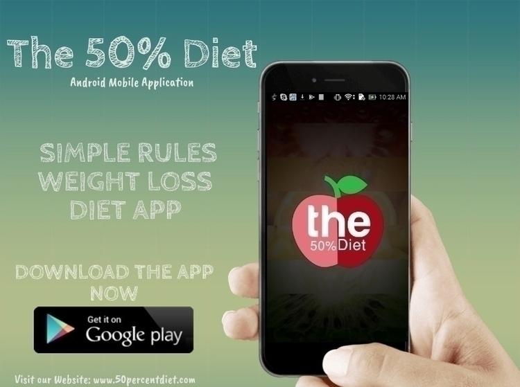 Diet app Weight Loss App - Simp - 50percentdiet   ello