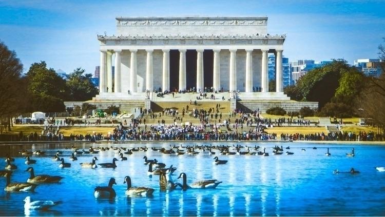 Abraham Lincoln - Memorial, washingtondc - interlocuter_rex | ello