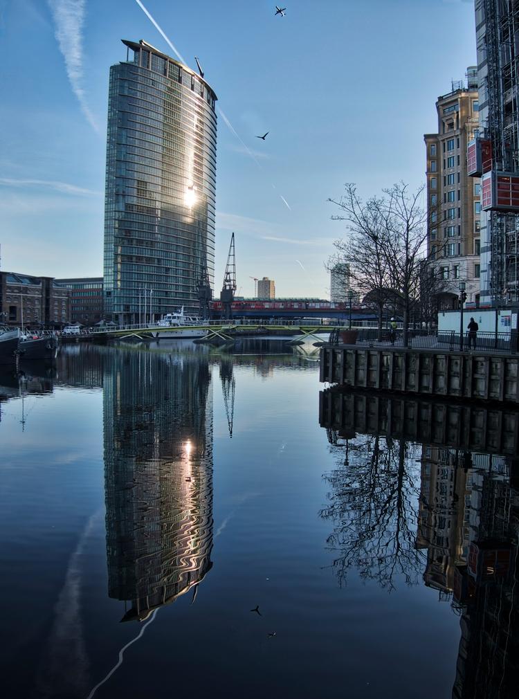 North Dock - Morning reflection - neilhoward | ello