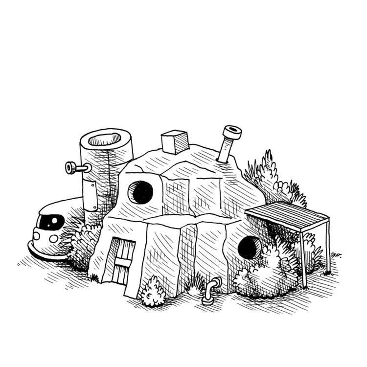 house built natural rock format - awcomix | ello