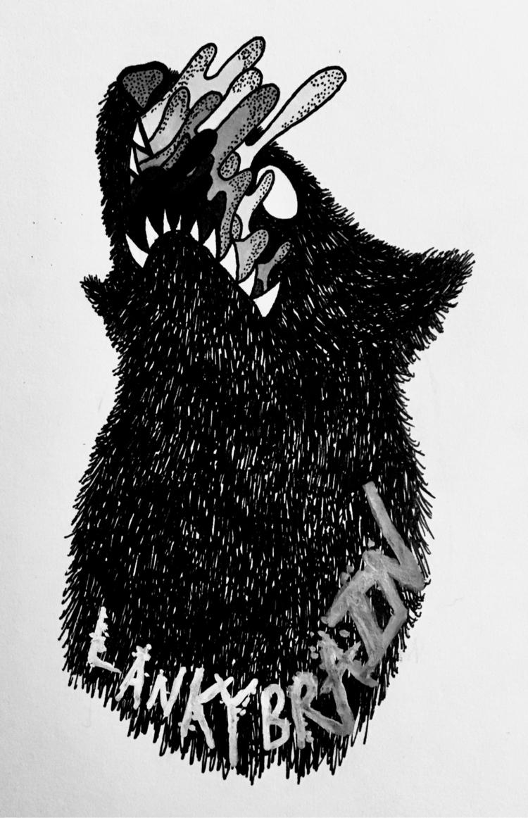 Doggie Drool - lankybrain | ello