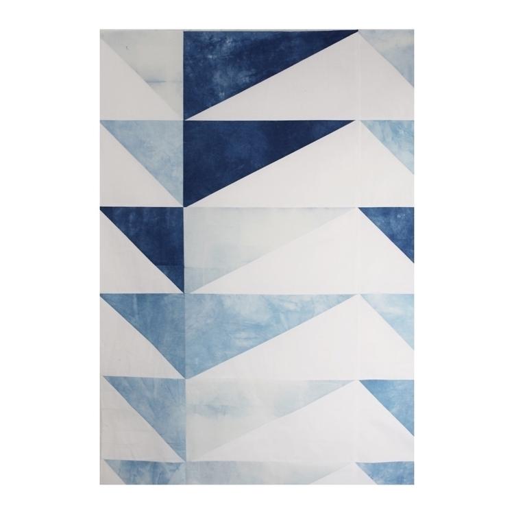 Painting Fabric Indigo - modernquilt - entropyalwayswins | ello