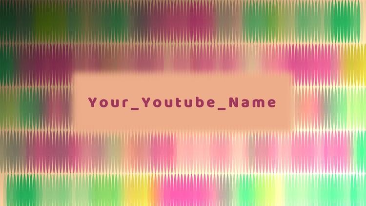 YouTube Channel Art Template Cu - artlikesyou | ello