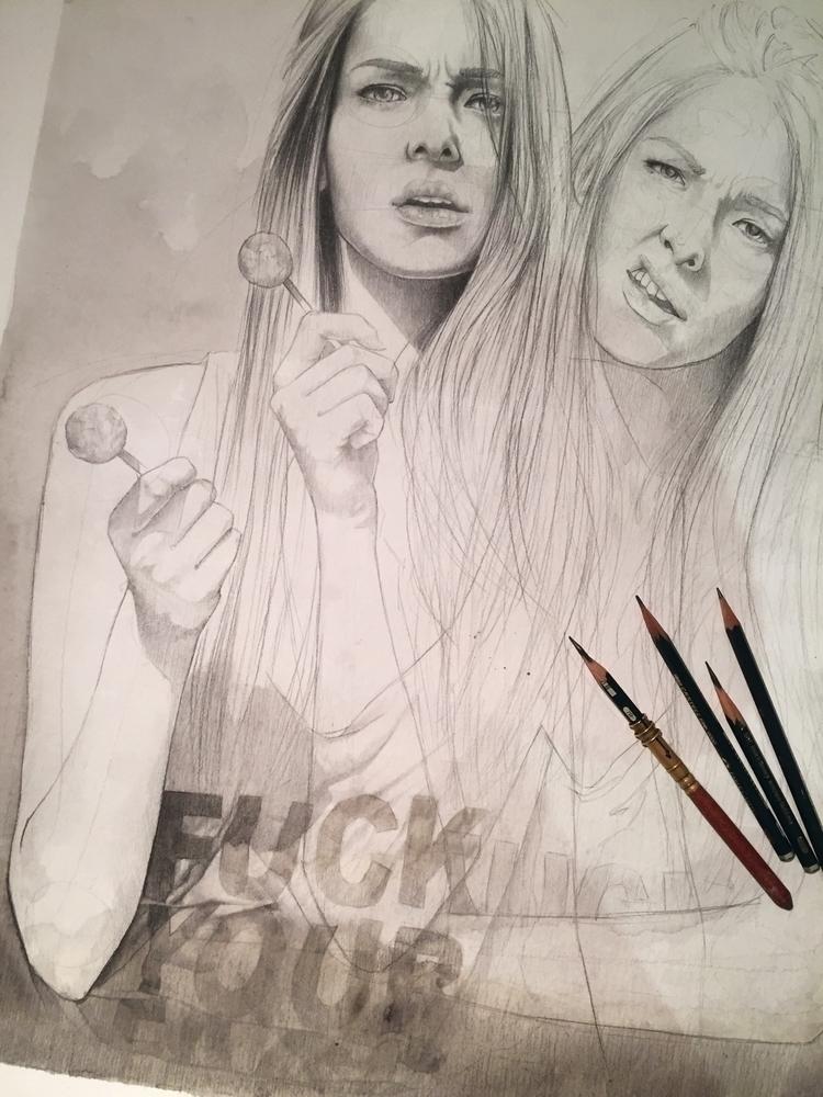 drawings :) Sebastian Wandl, Fu - wandl-art | ello