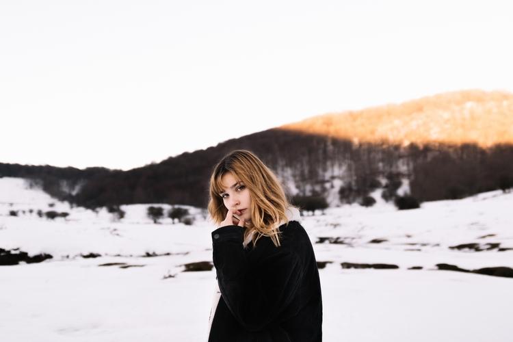 snow, photography, portrait, navarra - nabilgallera | ello