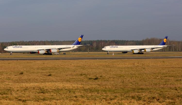 lufthansa, airbus, a340-600, airbuslovers - mathiasdueber | ello