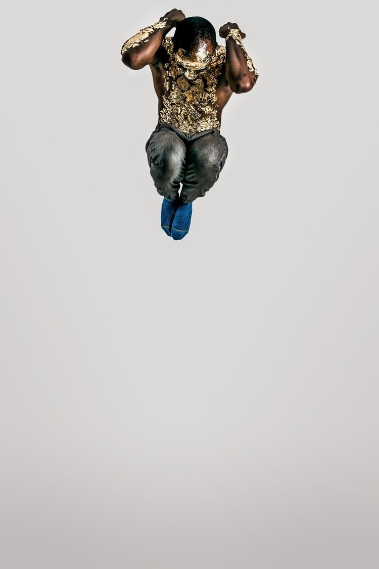 BLUE Chick McClure Socials - jump - tchickphoto | ello
