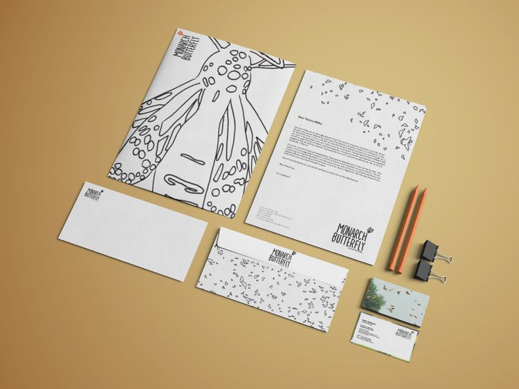 CORPORATE IDENTITY - Monarch Bu - vaniagettkant | ello