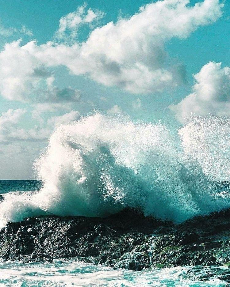 ocean, blue, wave, 50mm - svsogarcia | ello