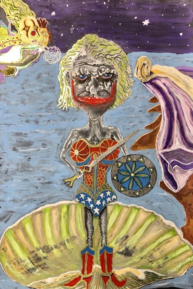birth cross dressing Joker woma - duckforcover | ello