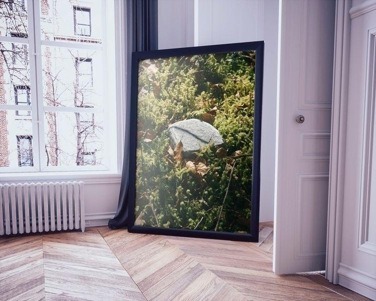 Moss//Limited Edition 120x80cm  - marliesplank | ello
