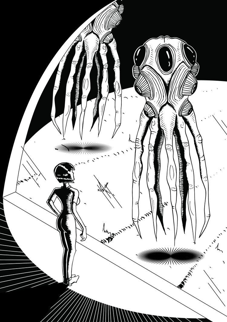 scene film Arrival - illustration - jessicafleur | ello