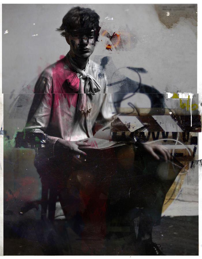collage, digital, decollage, fashion - buentypo | ello