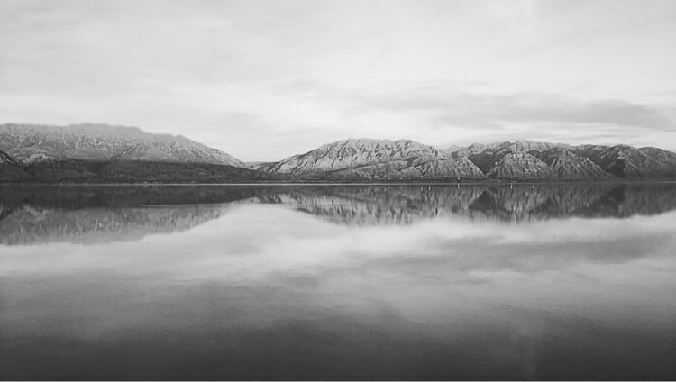 Utah Lake - utah, lake, mountains - lauragraphs_ | ello