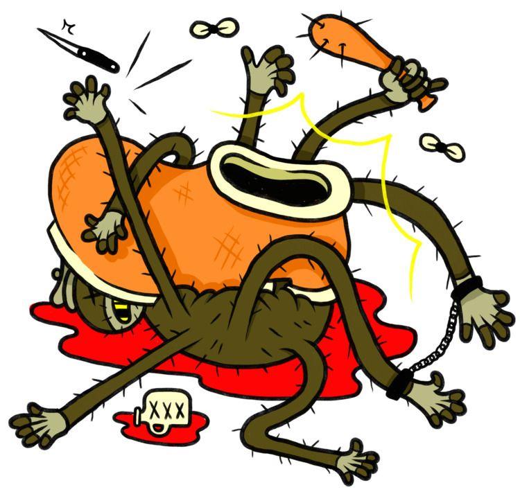 YA STINKIN SPIDER - art, artist - jagmackenzie | ello