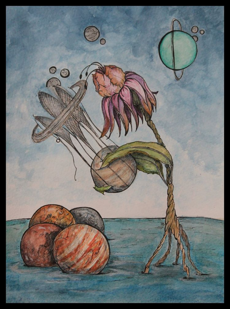 Collection Watercolor ink paper - disgruntledpeon | ello