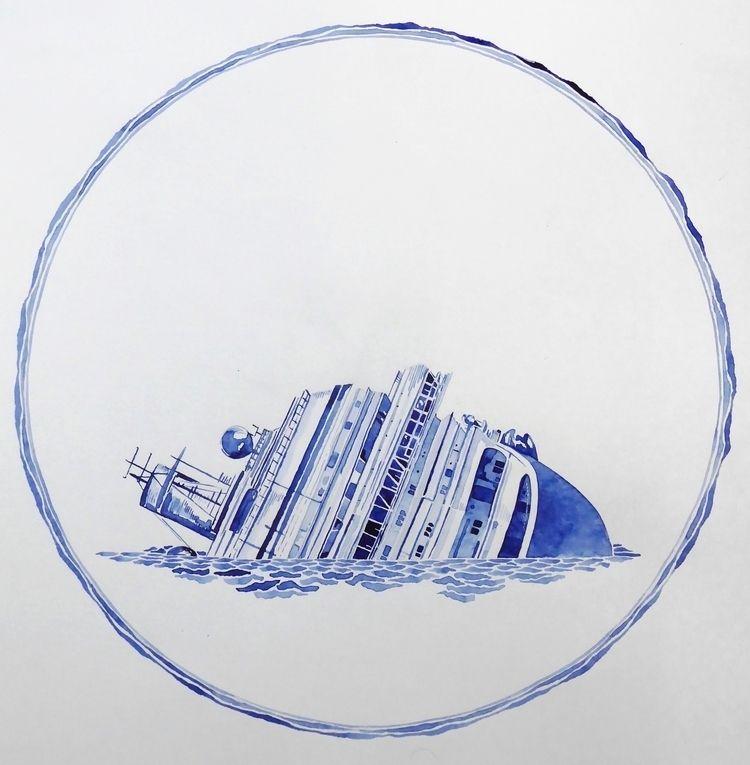 watercolor paper. 30 cm - liviagnos | ello