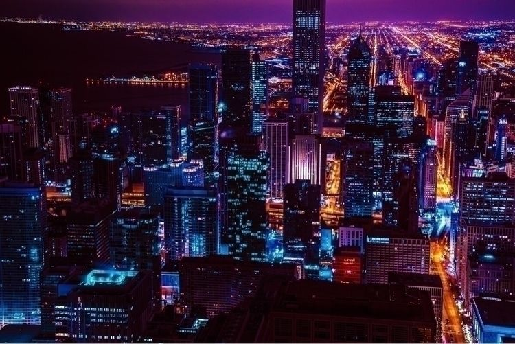 nightscape/cityscape Chicago ph - alex_e_photo | ello