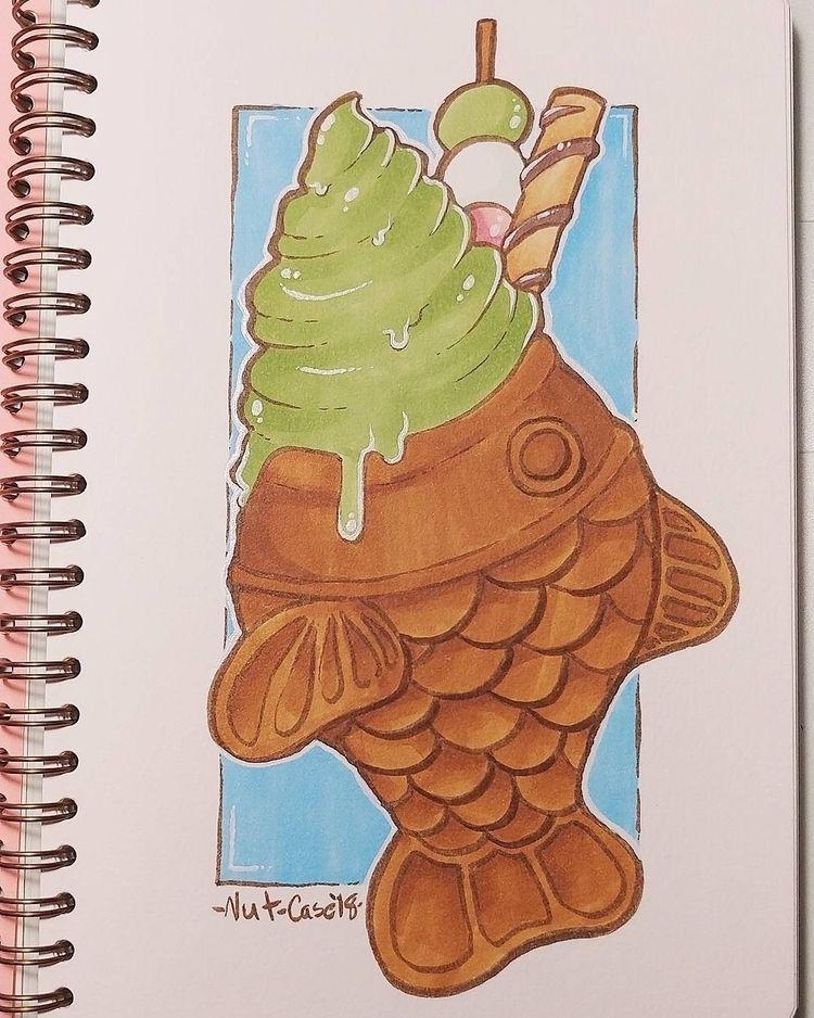started sketchbook yesterday - nutcaseart | ello