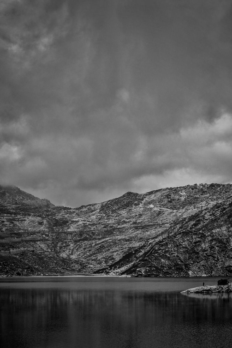 Tsango Lake, Sikkim. funny stor - abhirajdg | ello