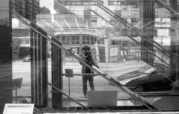 Tall fellow reflected narrow bu - kch   ello