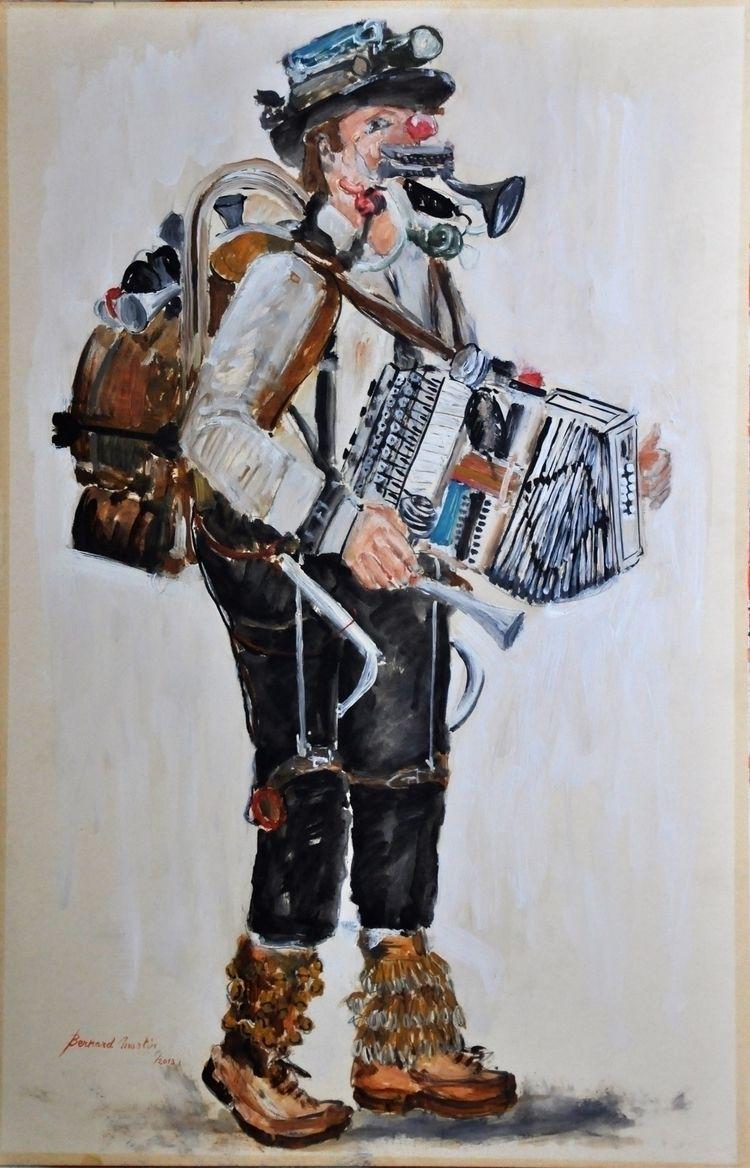 Straatmuzikant 2013 Bernard Mar - ben-peeters | ello