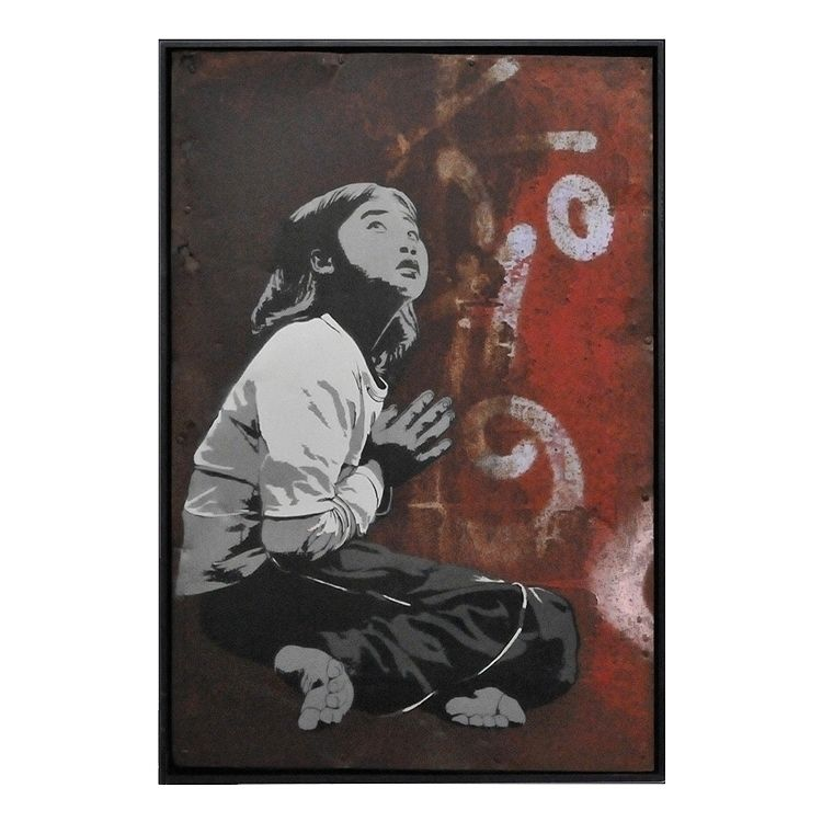 Praying Girl | 67,5 100,5 cm Ar - alias030 | ello