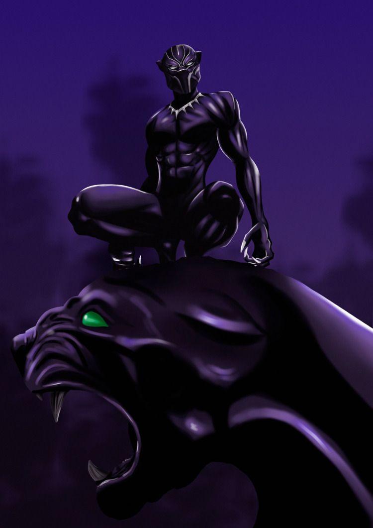 Black Panther - blackpanther, marvel - sidilustra | ello