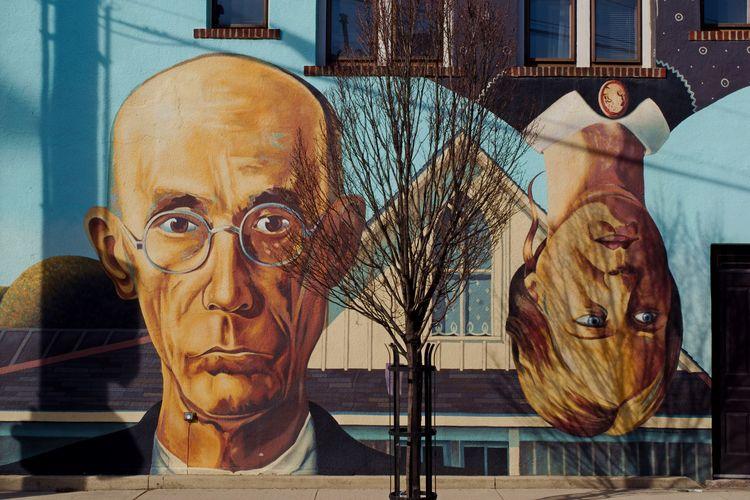 Short North Gothic mural - publicart - chetkresiak | ello