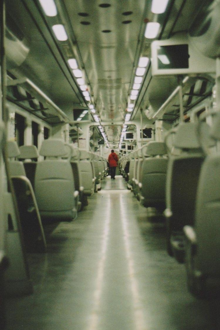 knowing  - train, analogic, red - ferranllerena | ello