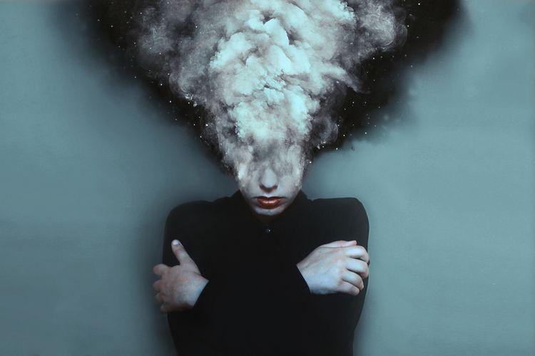 Overthinker (2014 - fineart, conceptual - silvia_travieso_g | ello