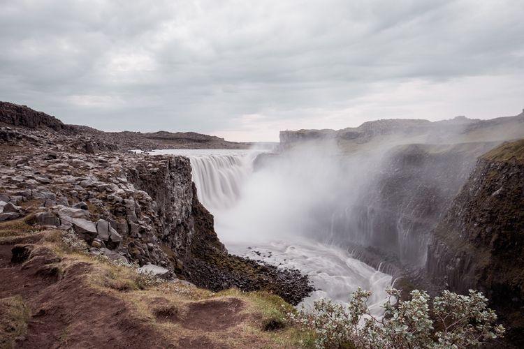 Dettifoss - waterfall, landscape - jonathanpercy | ello