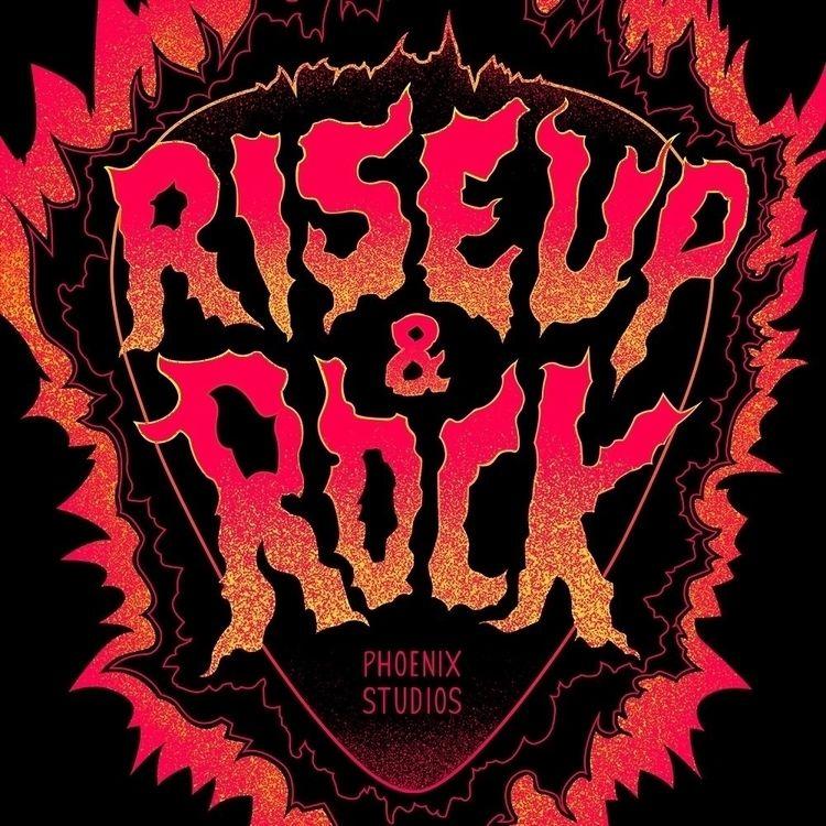 'Rise Rock' - world rise negati - phoenixstudios | ello