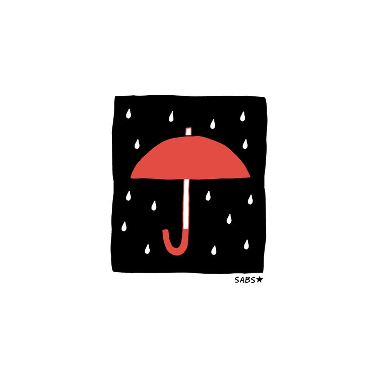 rain leave forgot umbrella - bysabs | ello
