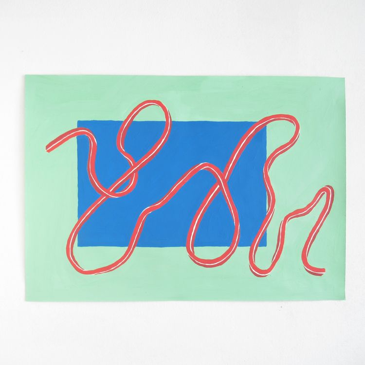 acrylic paper, 35x50cms, 2017 - art - rodrigosotoalt | ello