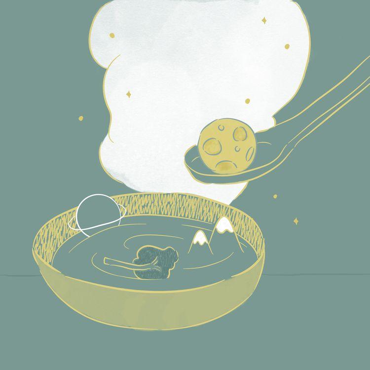 soup nothingness - illustration - tylalim | ello