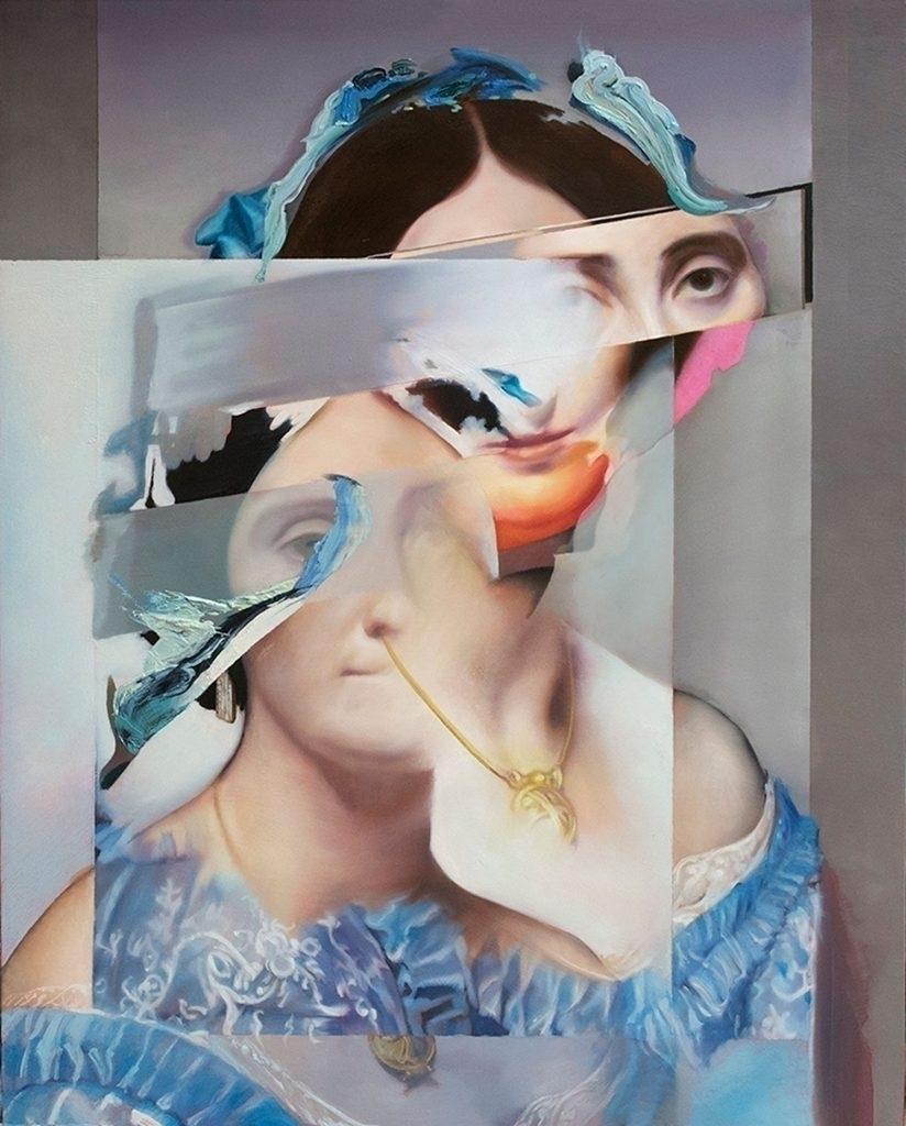 Shift Painting II Daniel Bilode - artwxrk | ello