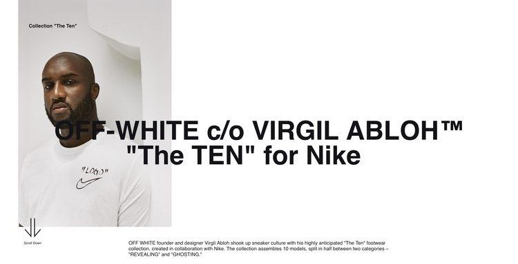 WHITE × Nike Conceptual collabo - bentoutif | ello