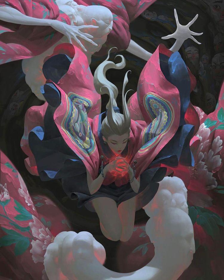 'Throb' amazing Zeen Art digita - wowxwow | ello
