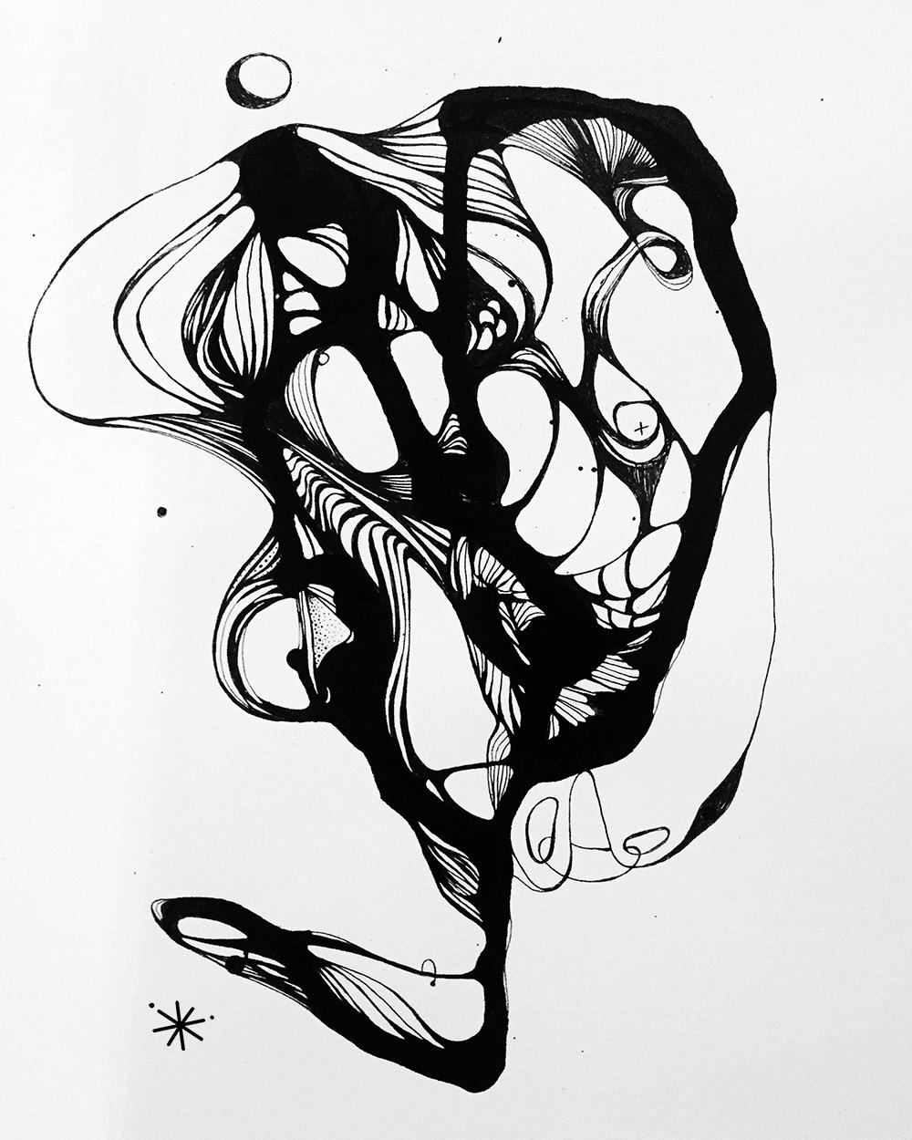 horse head - 2017 Ink marker pa - berenice_rosie | ello