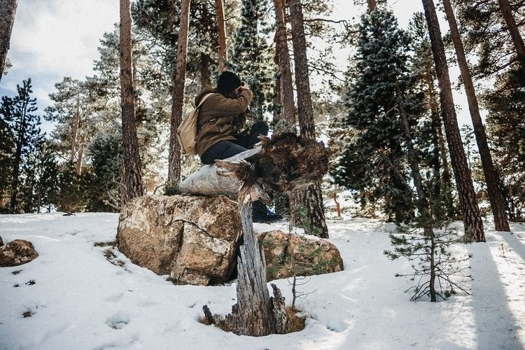 sunday snow - photography, alfonphotozine - alfonphotozine | ello