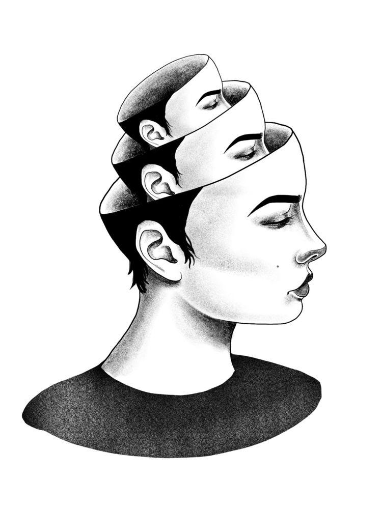 MATRIOSHKA - tattoodesign, pointillism - giselesaban_tattoo | ello